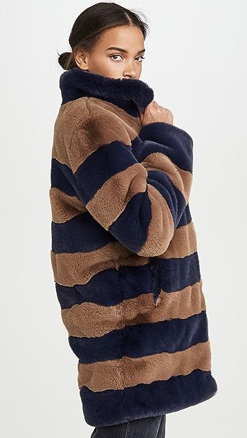 KULE Пальто Blythe с капюшоном