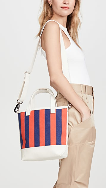 KULE The Stripe Bucket Bag
