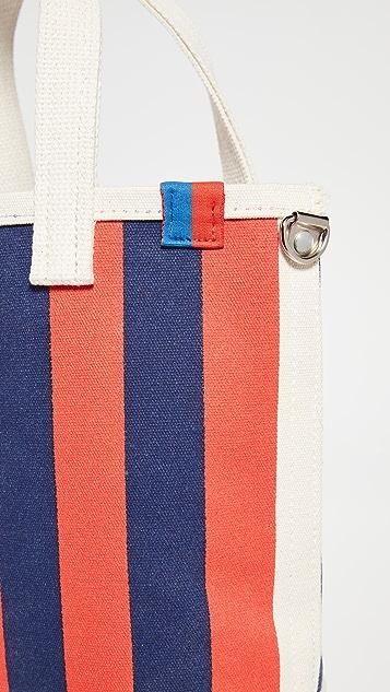 KULE The Stripe Bucket Bag