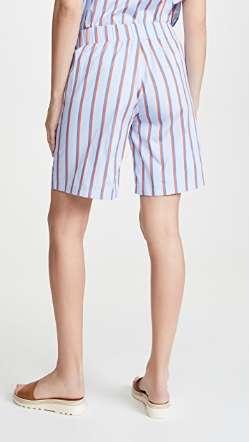 KULE The Roxy Ruffle Shorts