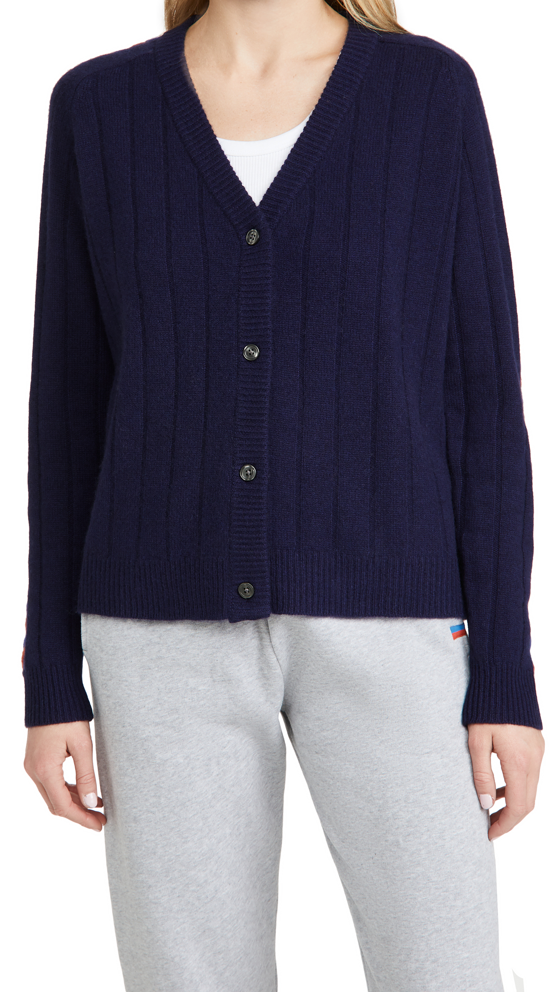 KULE The Viola Cashmere Cardigan