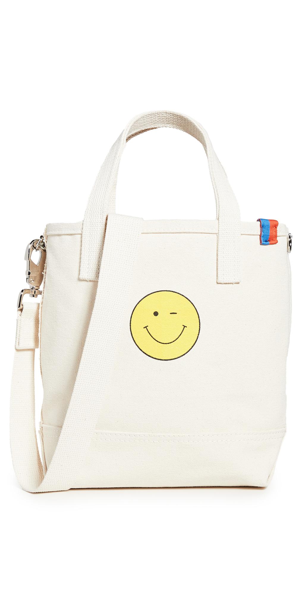 KULE The Winky Face Bucket Bag