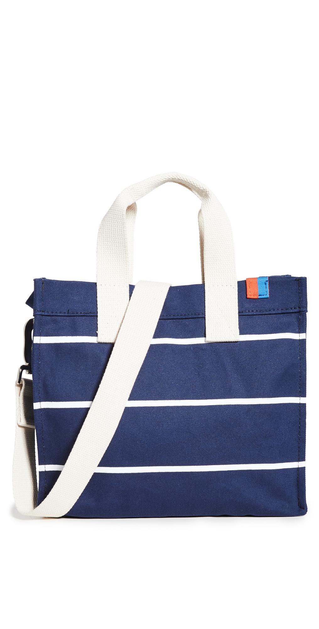 KULE The Horizontal Stripe Bucket Bag