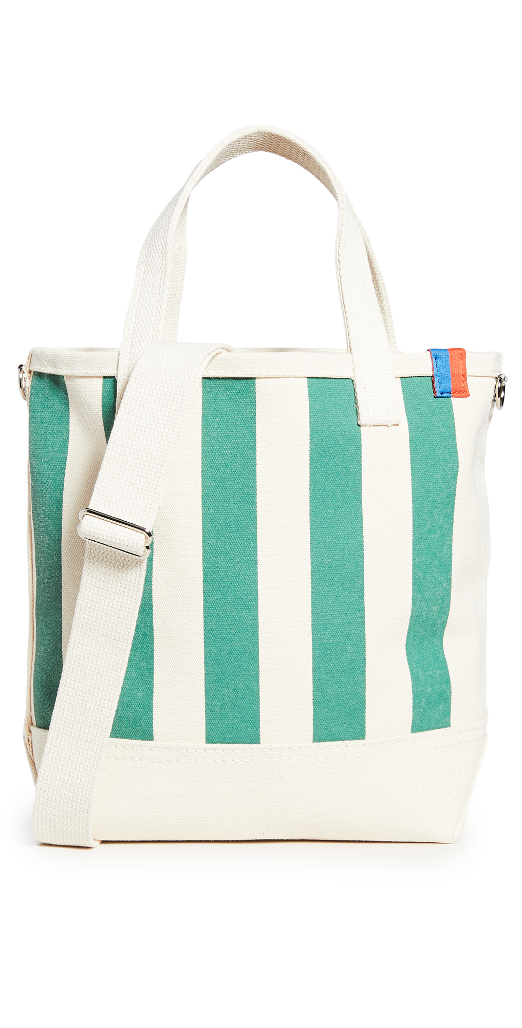KULE The All Over Striped Bucket Bag