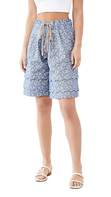 Kika Vargas Dolly Shorts