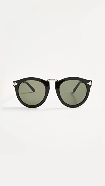 Karen Walker Солнцезащитные очки Harvest
