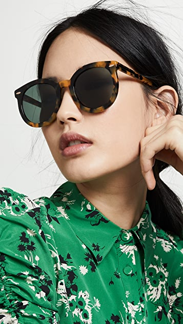 Karen Walker Alternative Fit Super Duper Strength Sunglasses