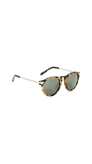Karen Walker Alternative Fit Helter Skelter Sunglasses