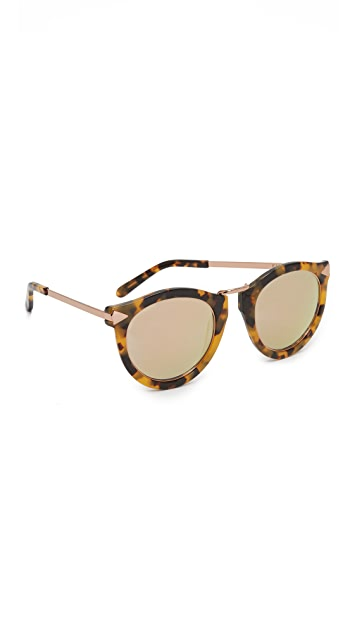 12a9144fd9b Karen Walker Harvest Superstar Sunglasses