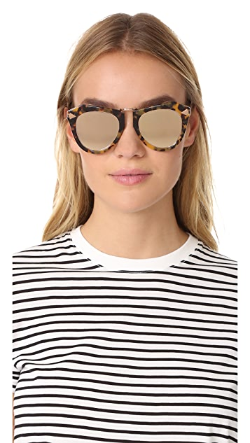 Karen Walker One Orbit Superstar Sunglasses