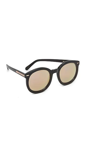 Karen Walker Super Duper Superstar Sunglasses