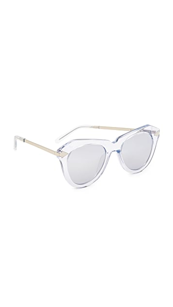 Karen Walker One Star Sunglasses