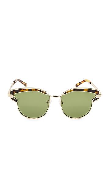 Karen Walker Felipe Sunglasses