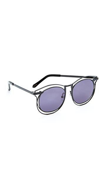 Karen Walker Superstars Simone Sunglasses