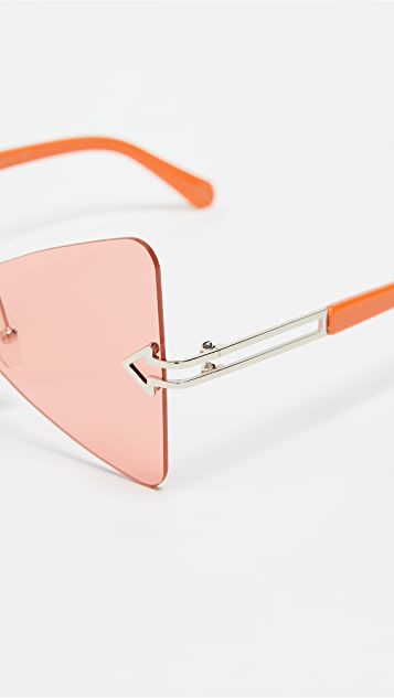 Karen Walker Paradise Sunglasses