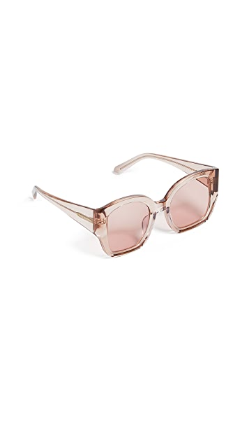 Karen Walker Alternative Fit Checkmate Sunglasses