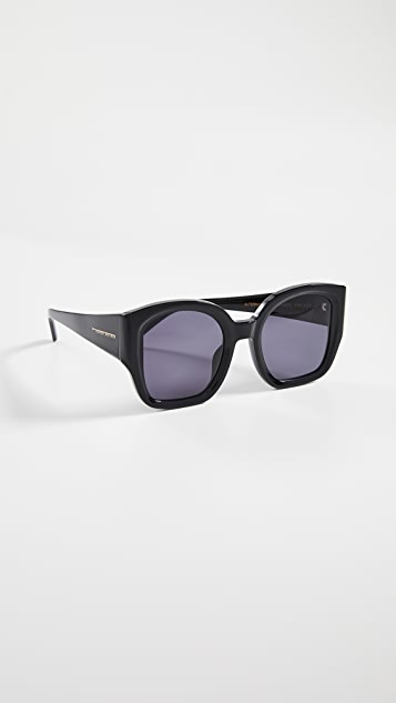 Karen Walker Солнцезащитные очки Alternative Fit Checkmate
