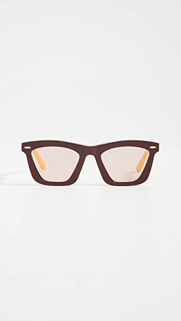 Karen Walker Солнцезащитные очки Alexandria