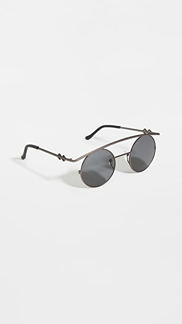 Karen Wazen Retro's XL Sunglasses