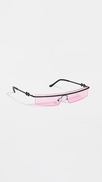 Karen Wazen 80's Sunglasses