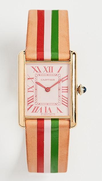 La Californienne Cartier Tank Large Watch