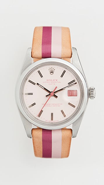 La Californienne Часы из нержавеющей стали Rolex Oyster Perpetual Date