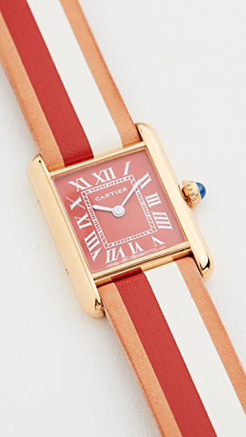 La Californienne Небольшие часы Cartier Tank
