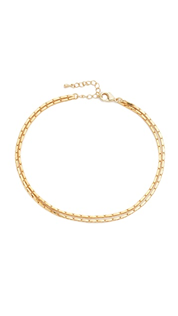 Lacey Ryan Double Snake Choker Necklace