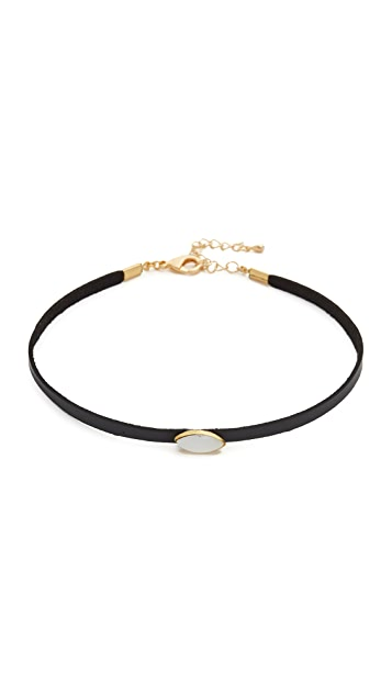 Lacey Ryan Black Stone Choker Necklace