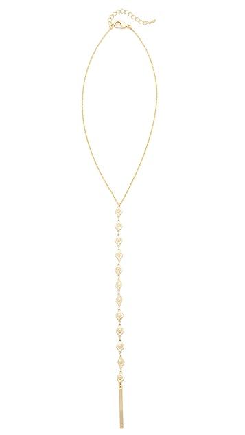 Lacey Ryan Sunburst Lariat Necklace