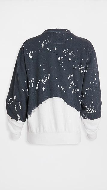 La Detresse 酸色水洗套头衫