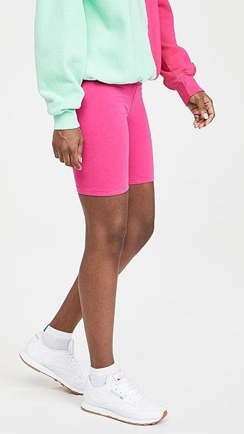 La Detresse Pink Cookies Bike Shorts