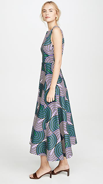 La Double J Sleeveless Pina Dress
