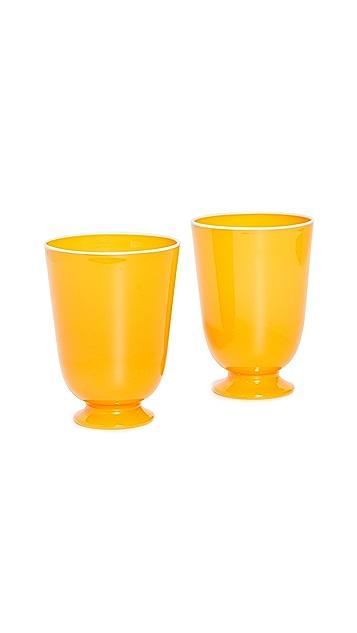 La Double J Glasses Set of 2