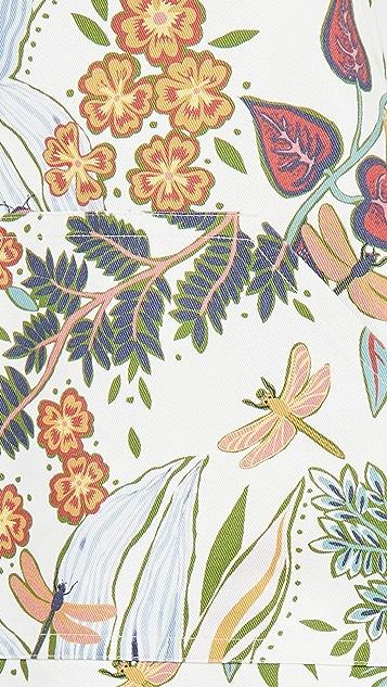 La Double J Floral Apron