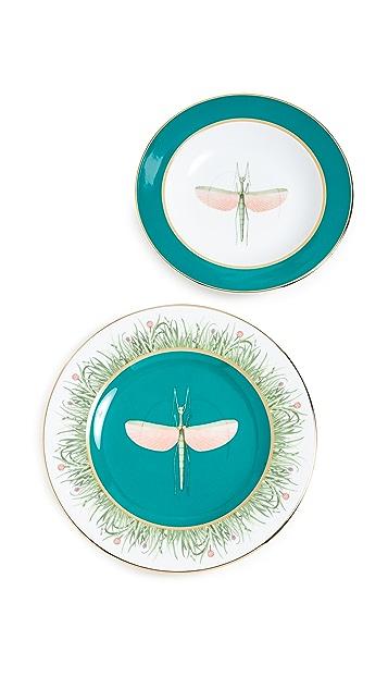 La Double J Dinner Plates Set of 2