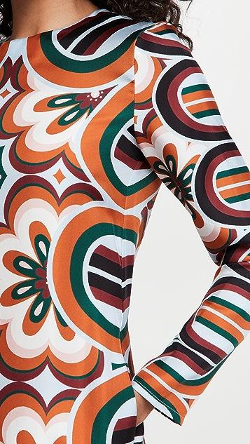 La Double J Long Sleeve Swing Dress