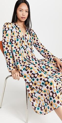 La Double J - V Trapezio Dress