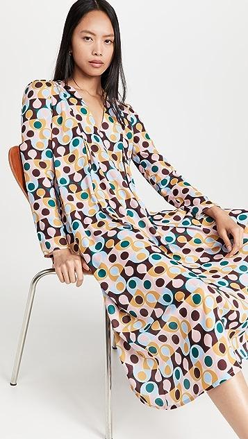 La Double J V Trapezio Dress