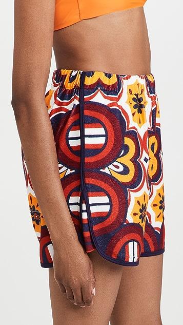 La Double J 毛圈布短裤