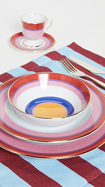 La Double J Soup and Dinner Plates Set of 2