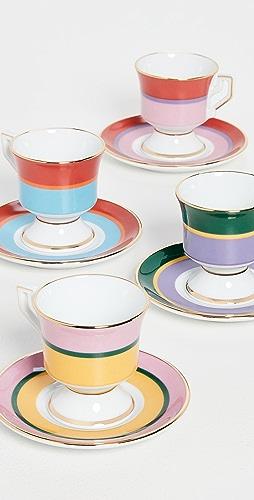 La Double J - Espresso Cup Set of 4