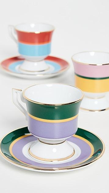 La Double J Espresso Cup Set of 4