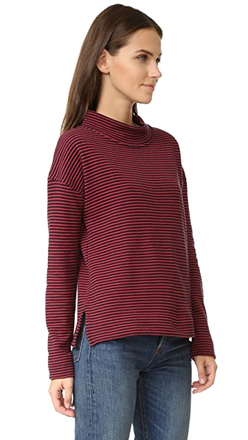 The Lady & The Sailor Mockneck Sweatshirt