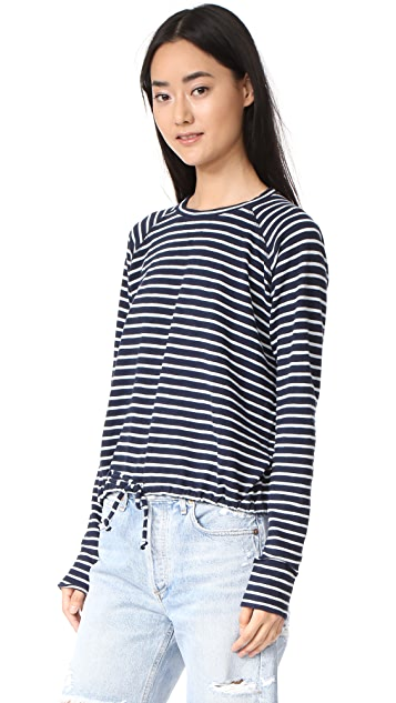 The Lady & The Sailor Ballet Drawstring Pullover