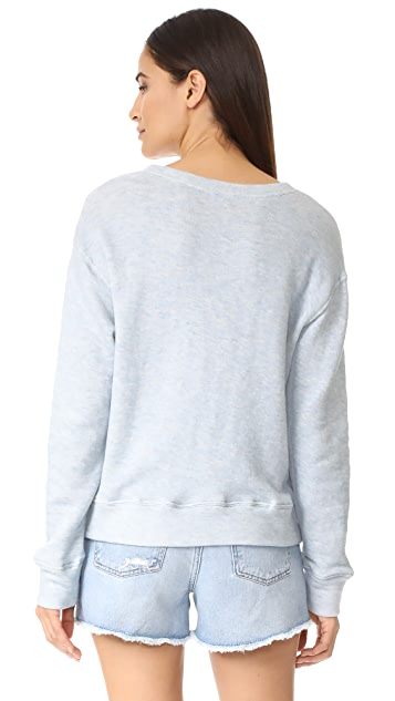 The Lady & The Sailor Sur La Plage Sweatshirt