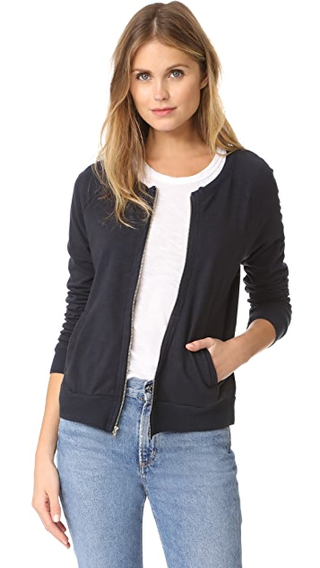 The Lady & The Sailor Knit Band Varsity Jacket
