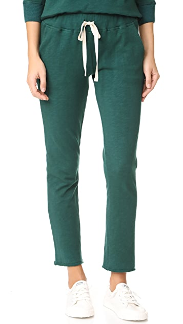 The Lady & The Sailor Ankle Pants - Emerald