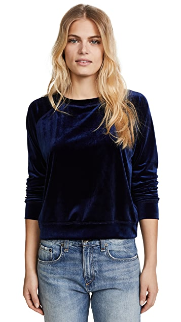 The Lady & The Sailor Velour Classic Sweatshirt