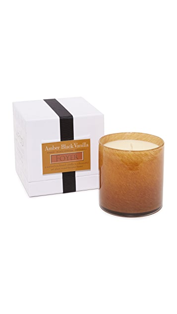 LAFCO New York Foyer Amber Black Vanilla Candle